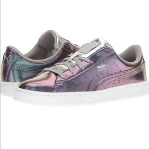 Puma Basket Classic Holographic Sneakers